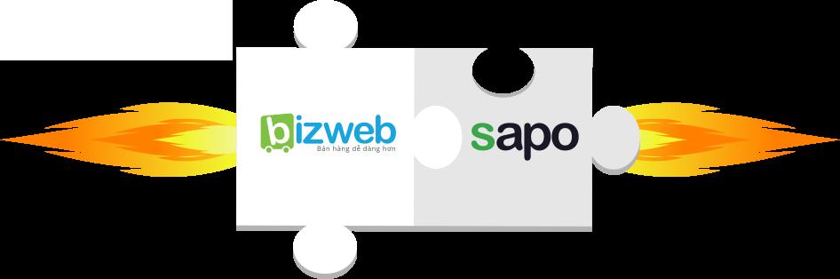 Bizweb hợp nhất với Sapo