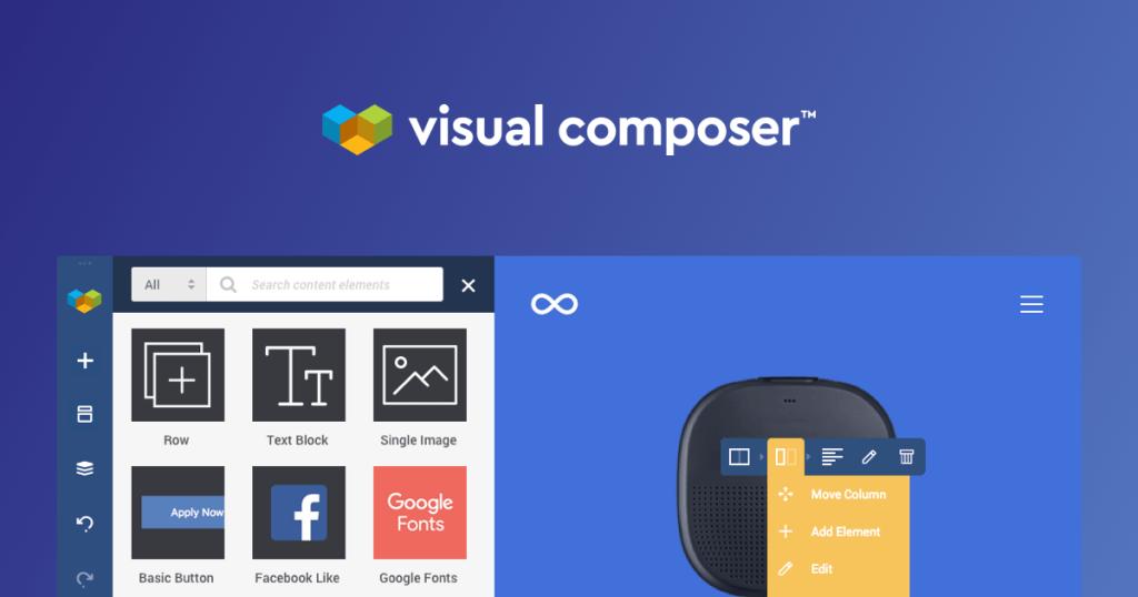 Tạo Landingpage bằng Visual composer