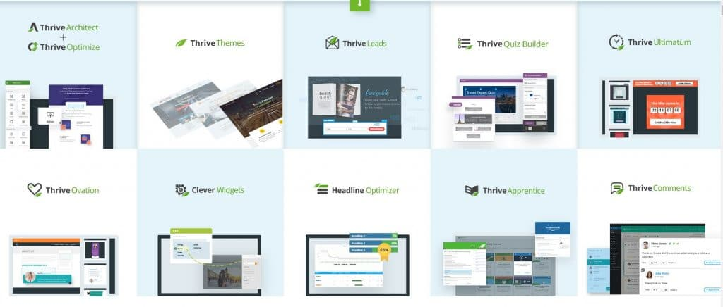 Thiết kế Landing page bằng Thrive Architect