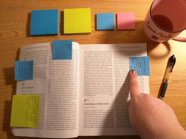 Ghi chú khi đọc sách