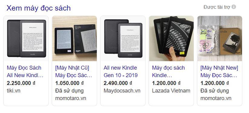 Quảng cáo Google shopping cho doanh nghiệp