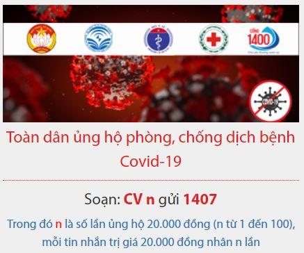 Quỹ phòng chống dịch covid 19