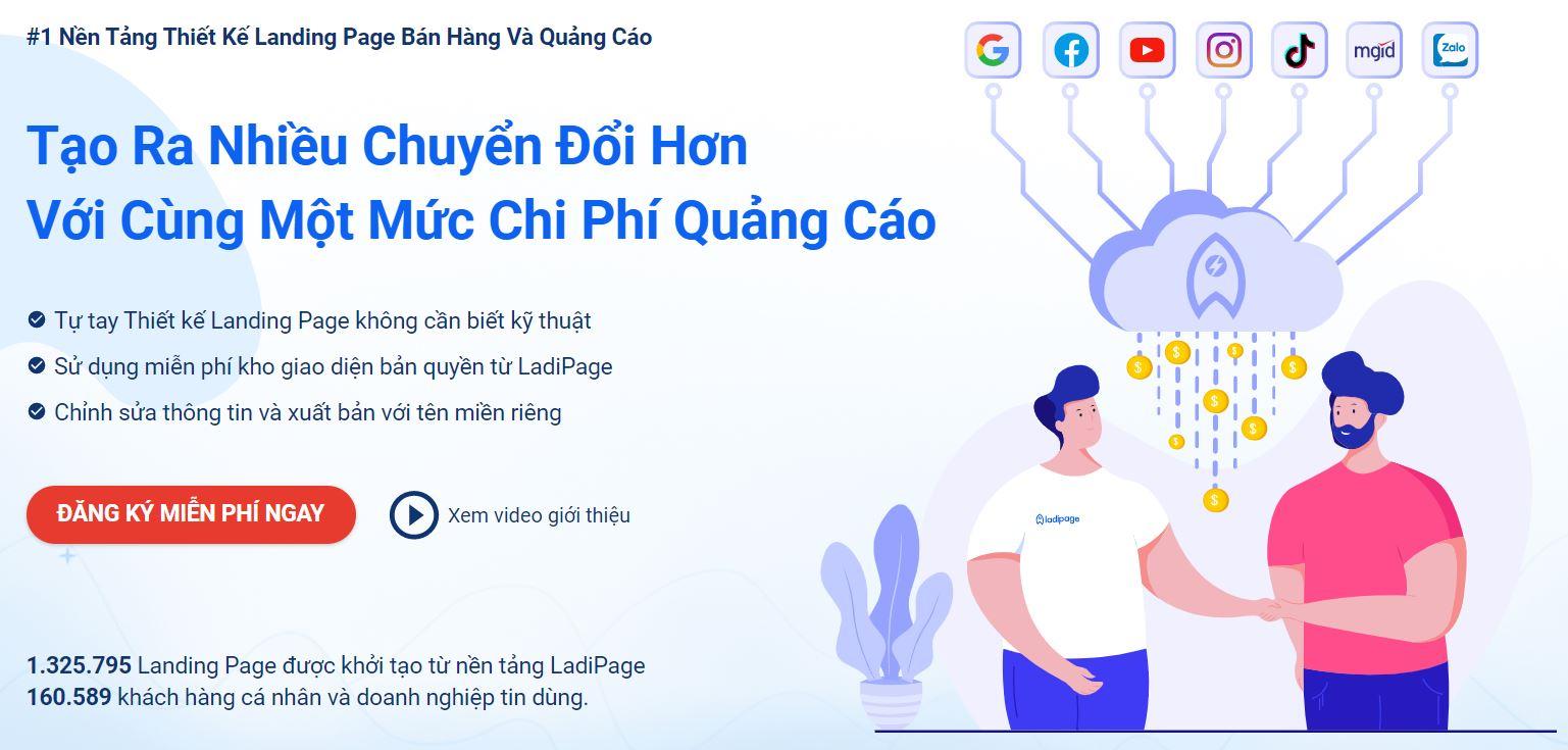 Tìm hiểu và thiết kế landing page miễn phí từ A đến Z